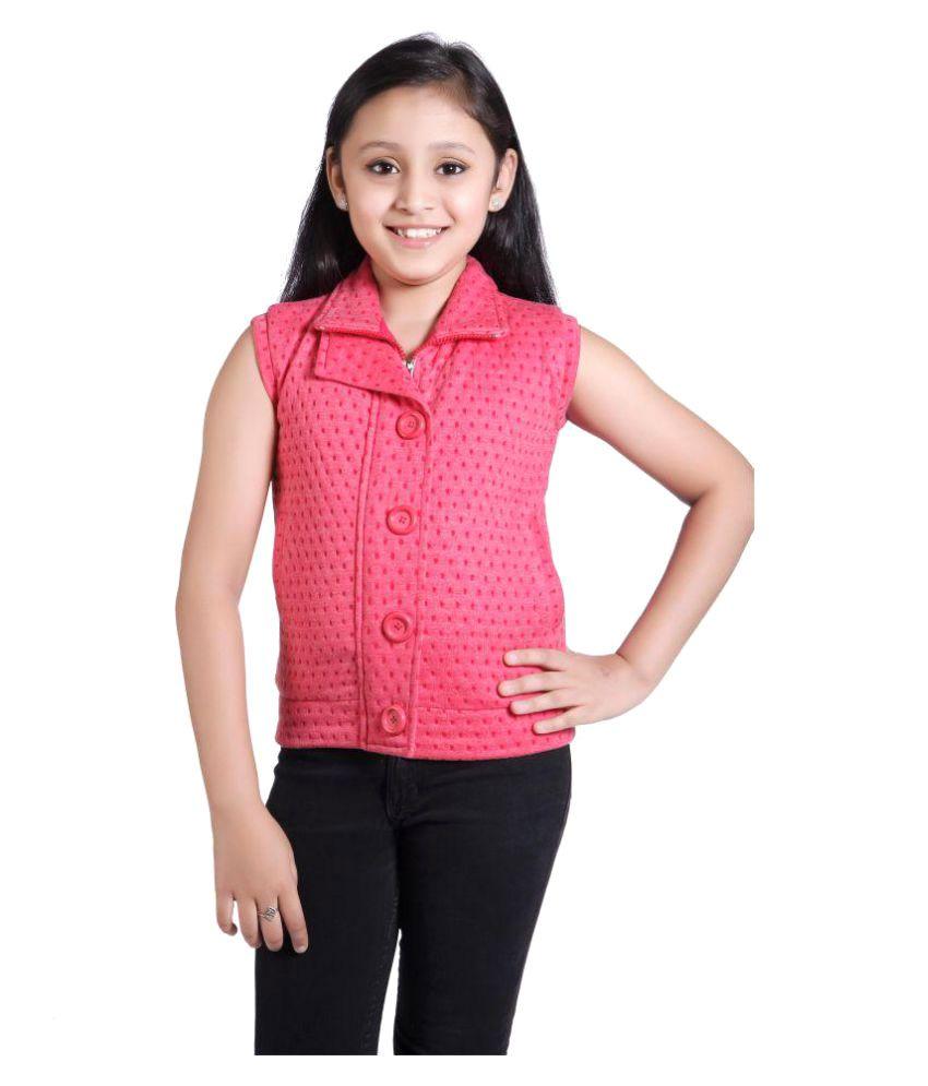 Just Clothes Girls Sleeveless Light Weight Jacket