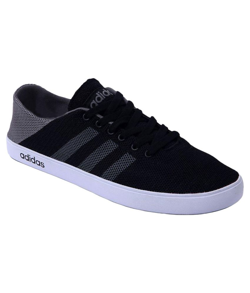 ae9418bb454c00 Adidas Sneakers Black Casual Shoes - Buy Adidas Sneakers Black ...