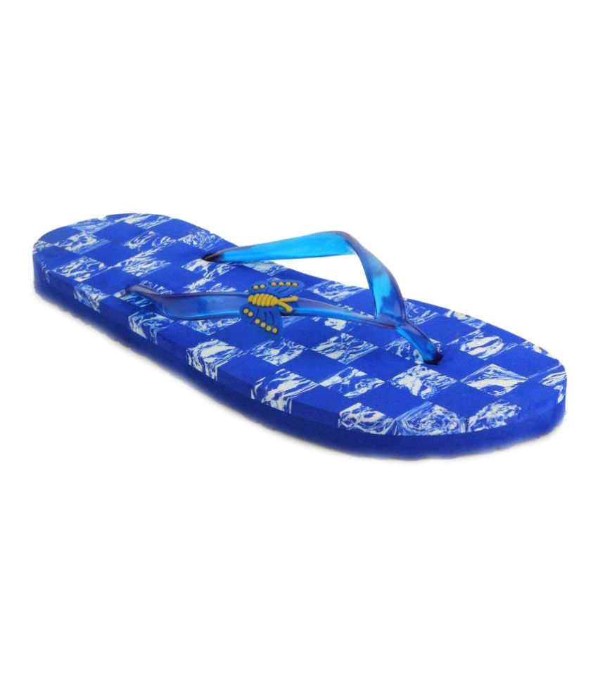 Fashion Victory Blue Slippers