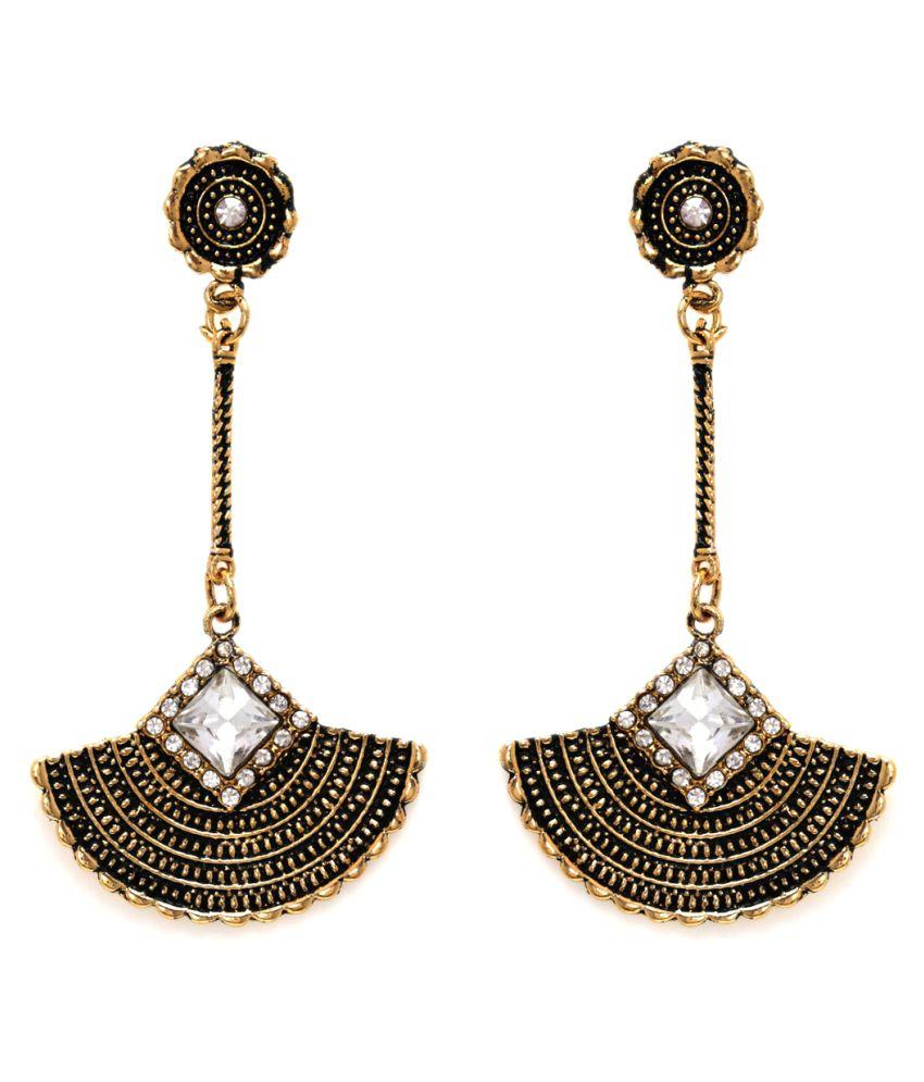 Alysa Multicolour Hangings Earrings