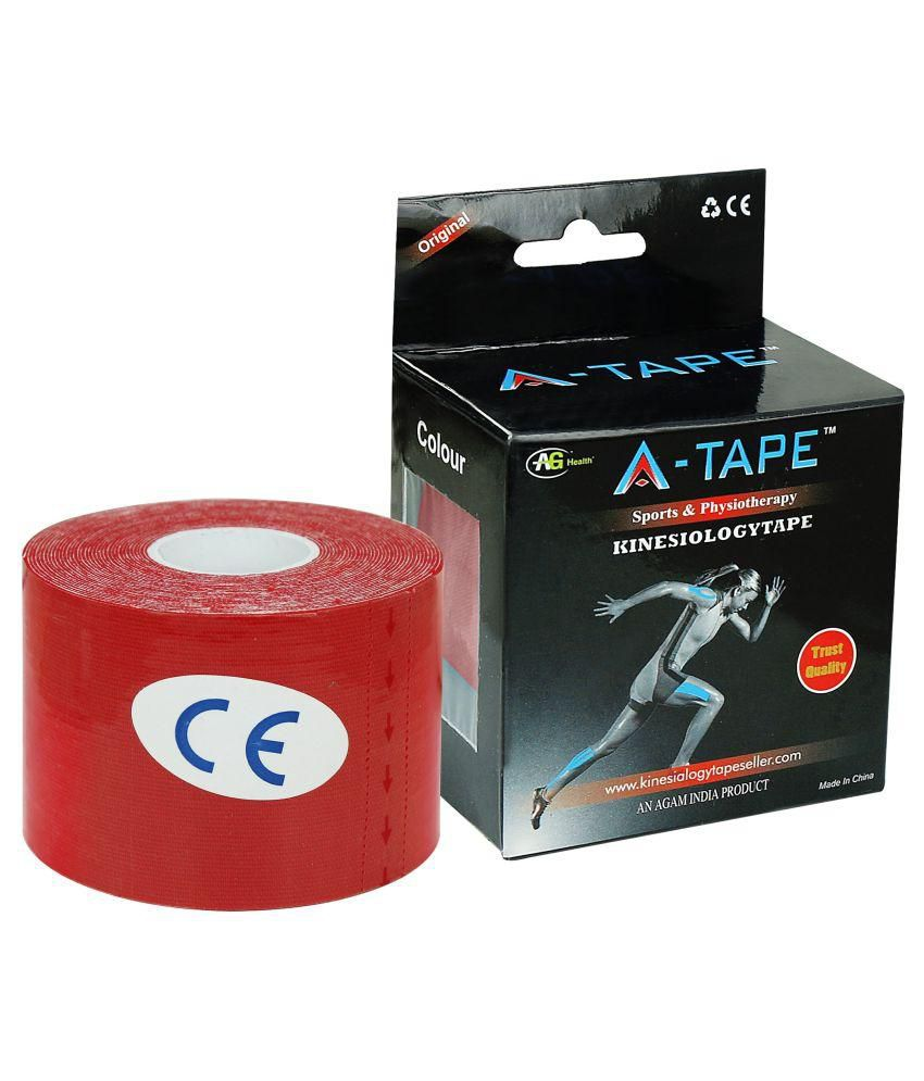 A-TAPE Kinesiology Tape Knee, Calf & Thigh Support Free Size