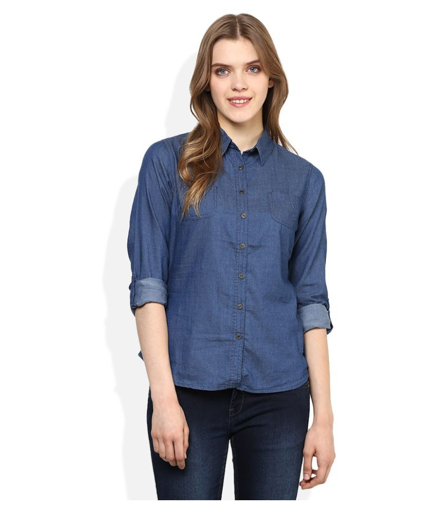 24240bb67cddd Buy Lee Cooper Denim Shirt Online at Best Prices in India - Snapdeal