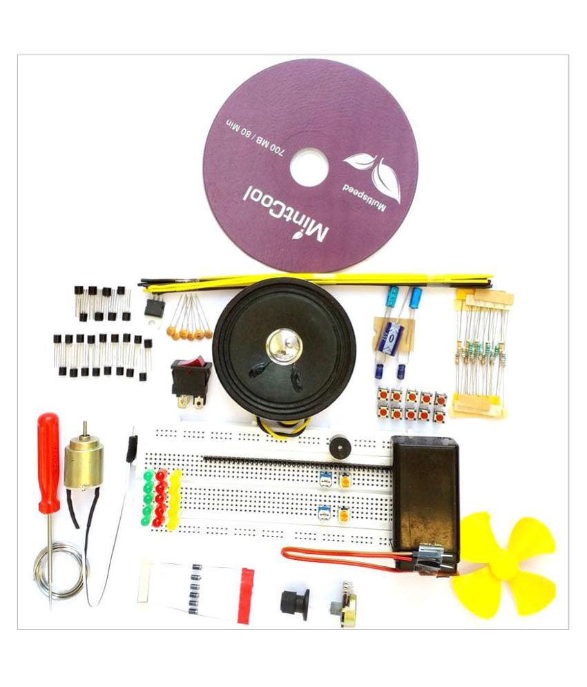 Global Traders Breadboard And Basic Electronics Components With ...