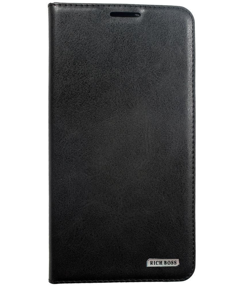 half off 7ded3 b57df Lenovo S850 Flip Cover by Rich Boss - Black