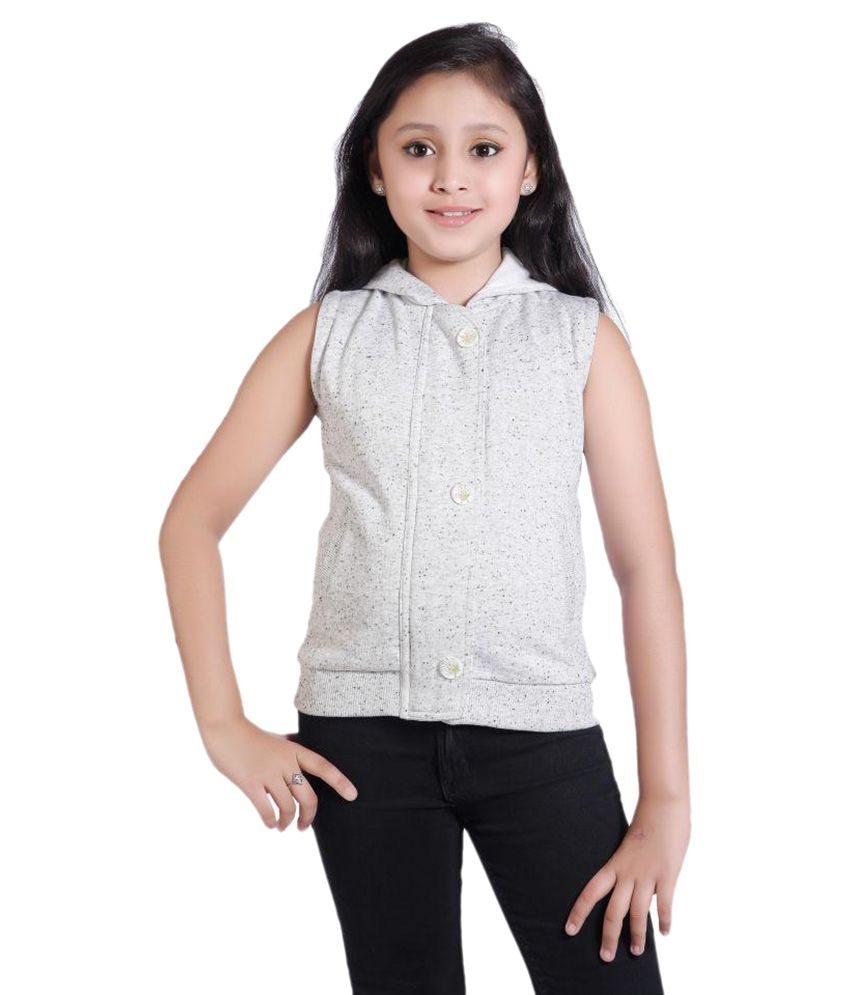 Just Clothes Girls Slevesless Jacket
