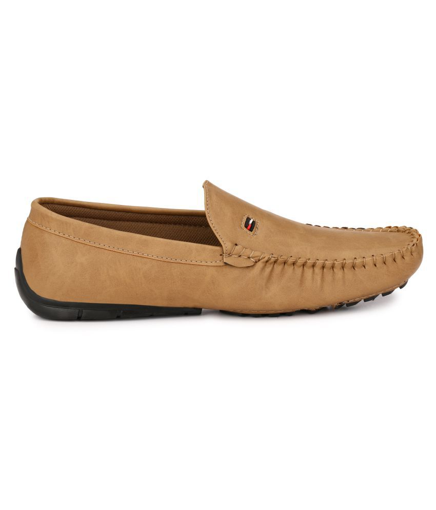 Shoe Smith Tan Loafers