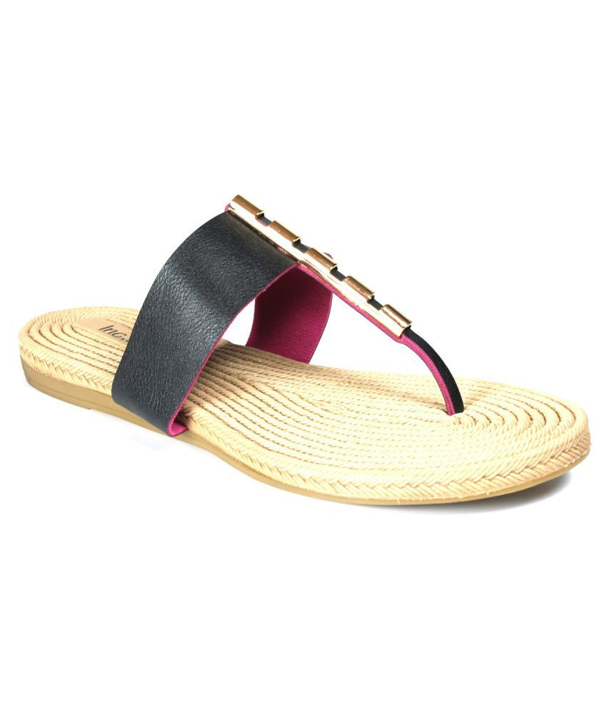 0922c02701c8d4 INC.5 Black Flats Price in India- Buy INC.5 Black Flats Online at Snapdeal