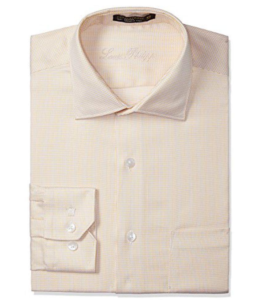 Louis Philippe Permapress Men's Formal Shirt - Buy Louis ... Louis Philippe Formal Shirts