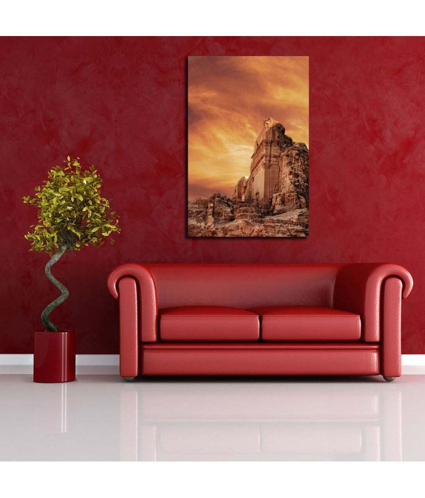 Pitaara Box Gallery Canvas Painting With Frame Single Piece