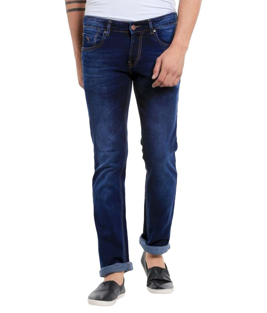 Mayback Dark Blue Regular Fit Jeans