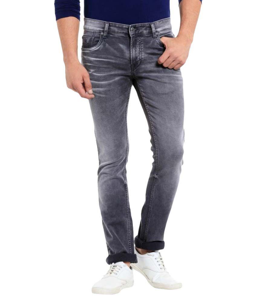 Mayback Grey Regular Fit Jeans