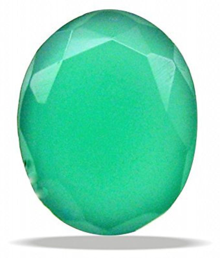 Cultured Gemstone EMERALD - PANNA 3.25 - 3.50 Ratti (Suggested) Super Delux Quality