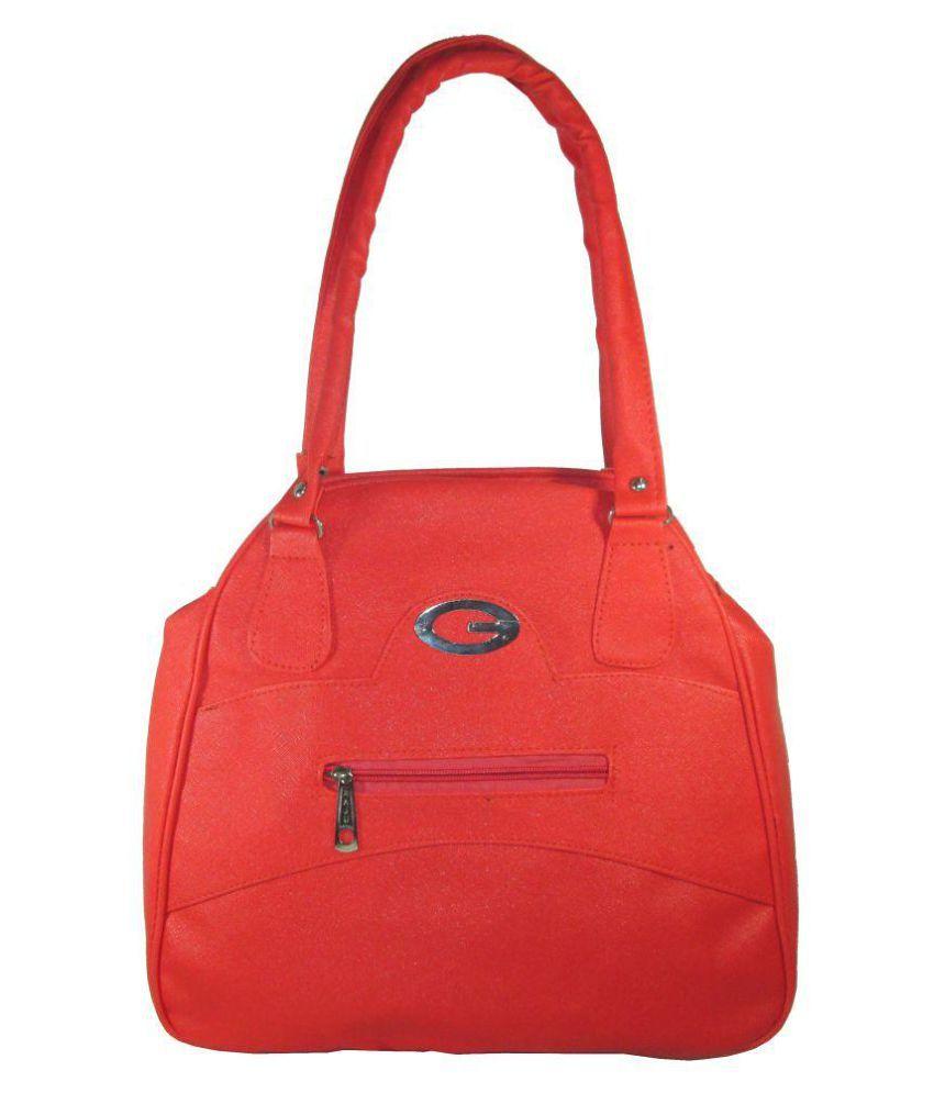 Raju Purse PeachPuff P.U. Shoulder Bag