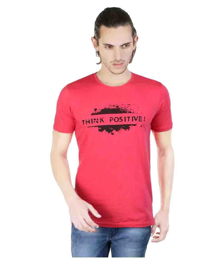 Twooft Pink Round T-Shirt