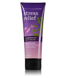Bath & Body Works Aromatherapy Stress Relief Eucalyptus Tea Day Cream 226 Gm