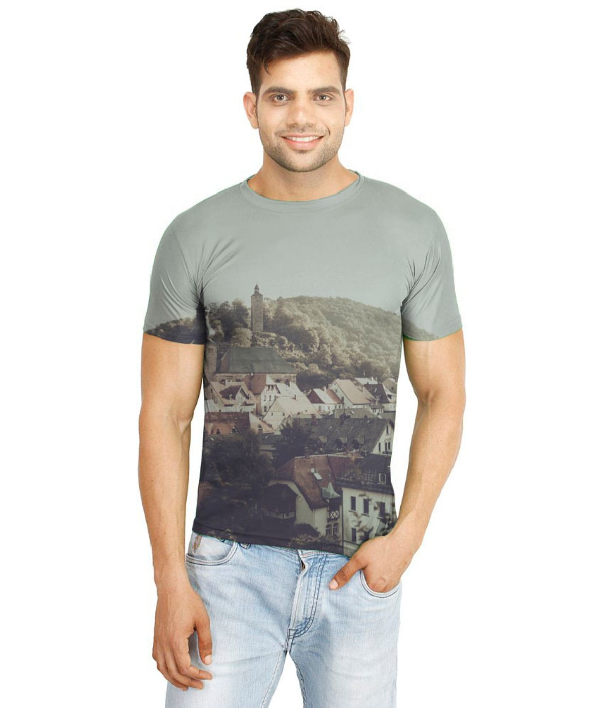 Atheno Multi Polyester T-Shirt Single Pack
