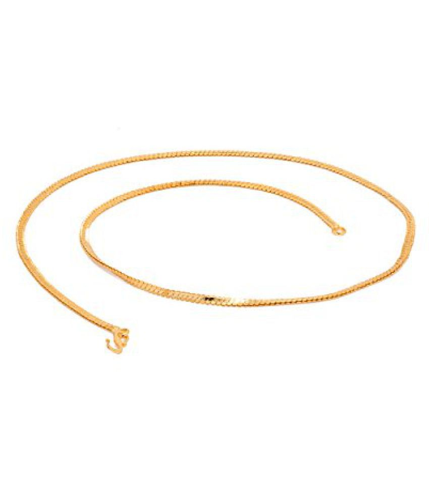 Voylla Gold Plated Mens Chain