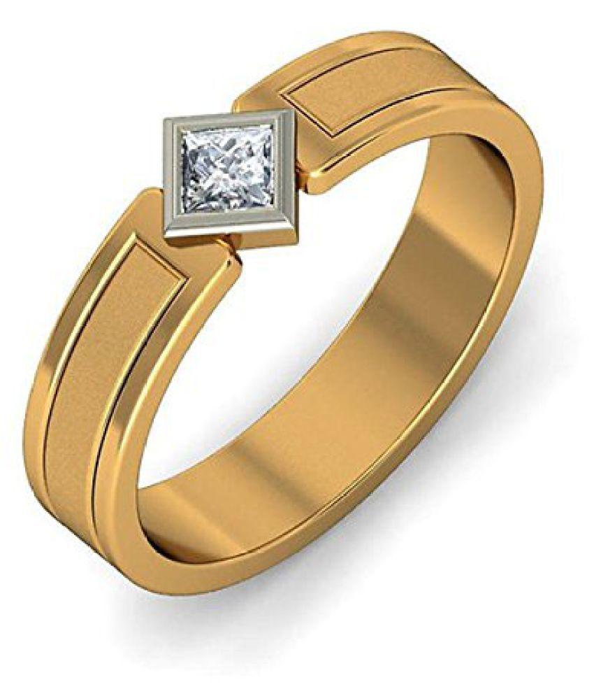 Voylla Stylish 925 Sterling Silver Mens Ring, Size 16.0