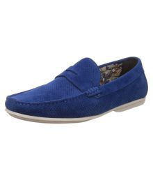 Carlton London Blue Loafers
