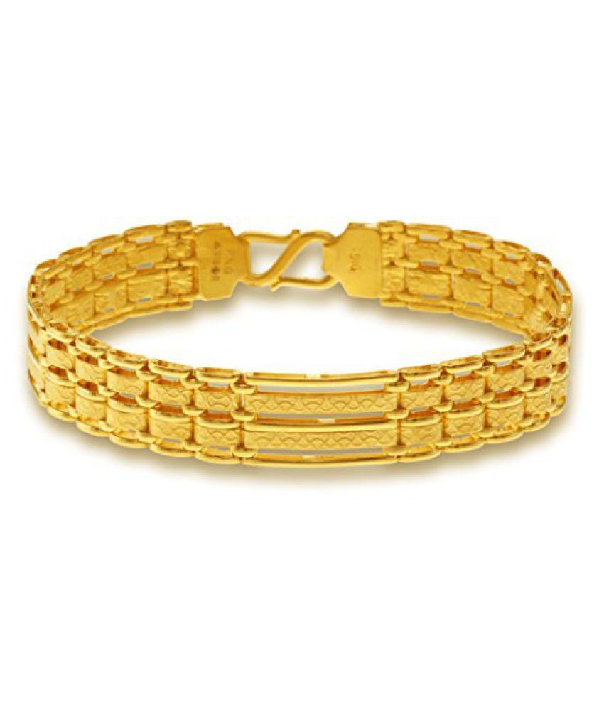 P.N.Gadgil Jewellers 22k Yellow Gold Charm Bracelet
