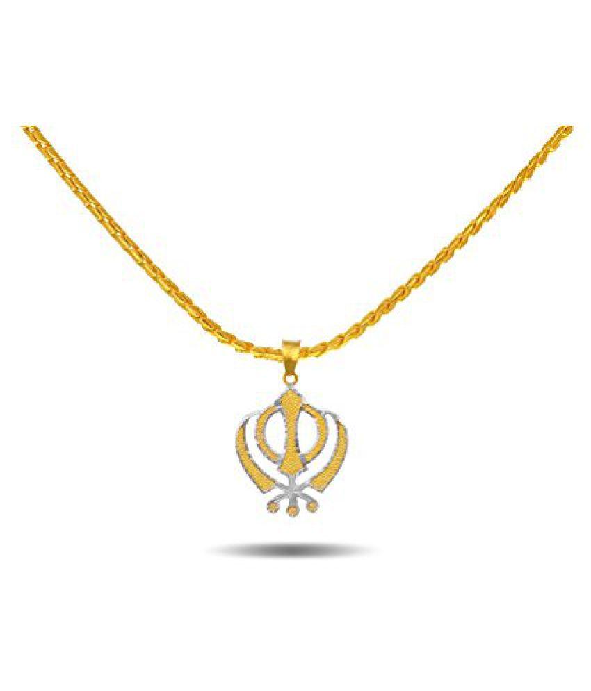 P.N.Gadgil Jewellers 22k Yellow Gold Pendant Neckwear