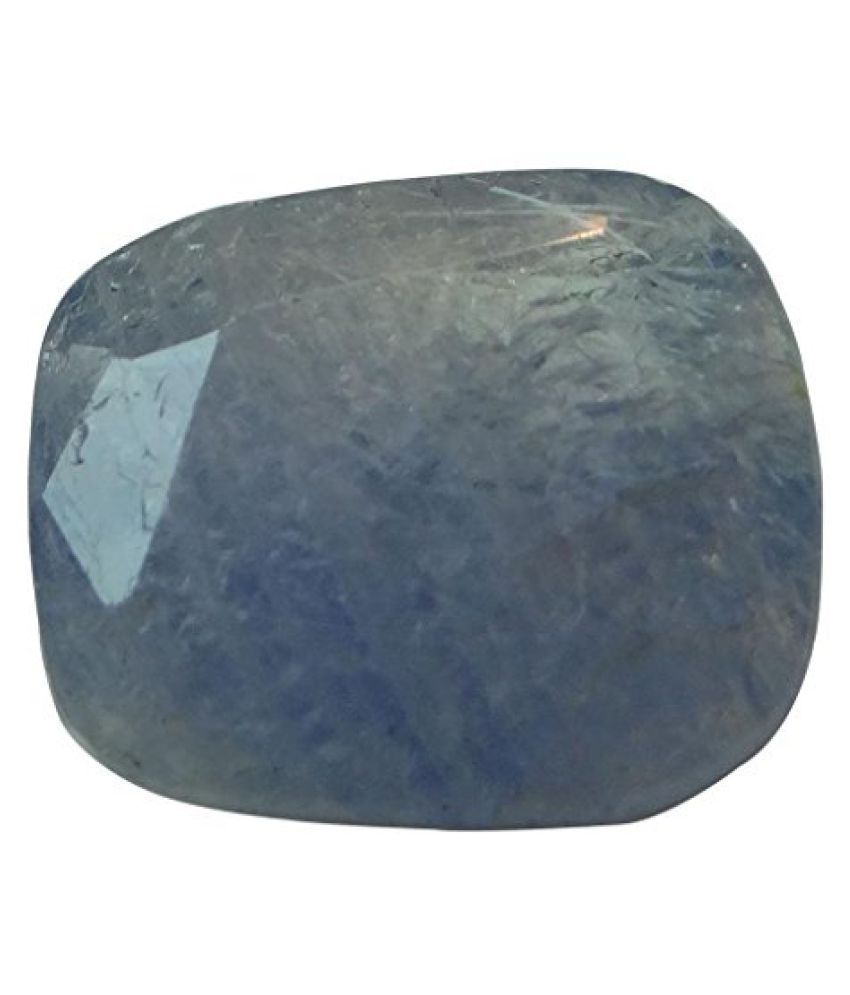 NEELAM 5.51 ct. / 6.12 Ratti Natural & Certified Blue Sapphire (Neelam) GEMSTONE BY ARIHANT GEMS AND JEWELS