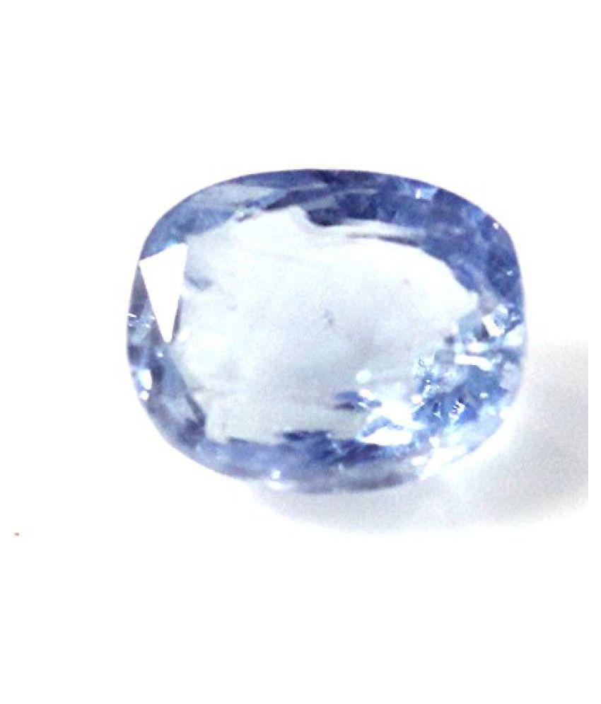 NEELAM 7.88 ct. / 8.76 Ratti BLUE SAPPHIRE (NEELAM) Certified GEMSTONE BY ARIHANT GEMS AND JEWELS