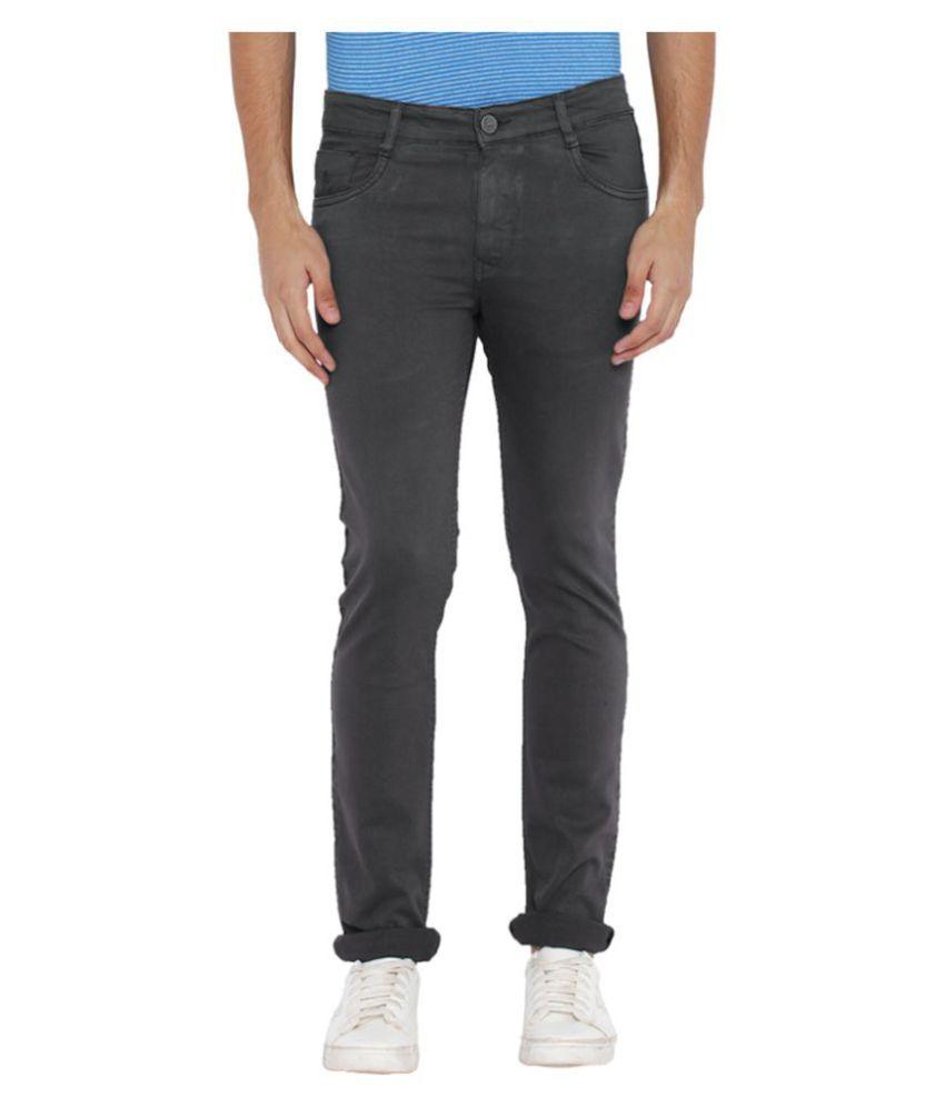Parx Grey Slim Jeans