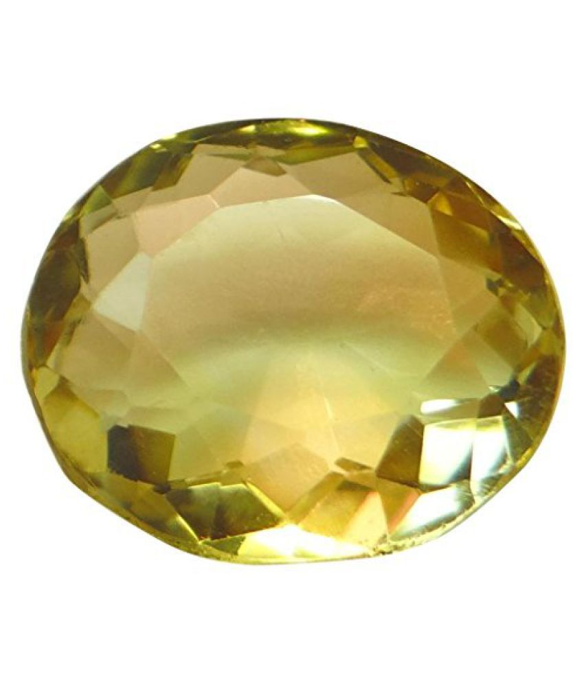 6.11 ct. / 6.78 Ratti Natural & Certified CITRINE (SUNHELLA) BIRTHSTONE BY ARIHANT GEMS & JEWELS BY ARIH...
