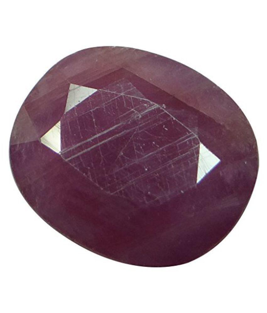 Arihants 11.8 ct. / 13.11 Ratti NATURAL & IIGS CERTIFIED RUBY (MANIK) ASTROLOGICAL GEMSTONE