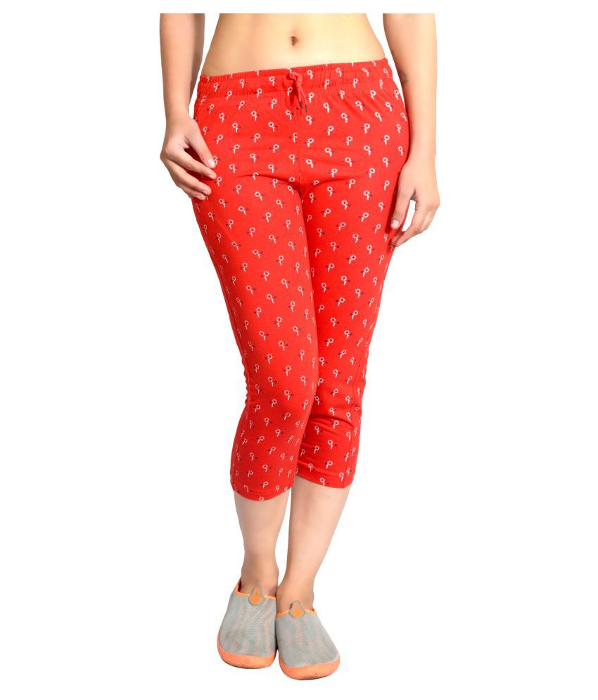 Hardihood Cotton Night Capris