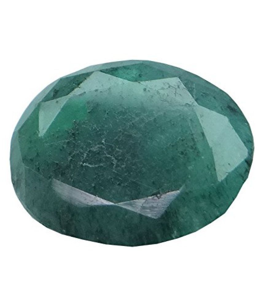 4.77 ct. / 5.3 Ratti PURE & IIGS CERTIFIED EMERALD (PANNA) ASTROLOGICAL GEMSTONE BY ARIHANT GEMS & JEWELS