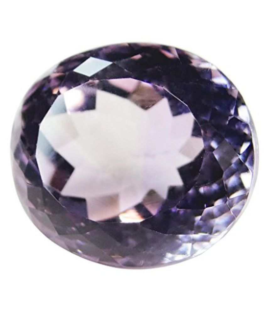 7.96 ct. / 8.84 Ratti Natural & Certified AMETHYST (KATHELA) BIRTHSTONE BY ARIHANT GEMS & JEWELS BY ARIH...
