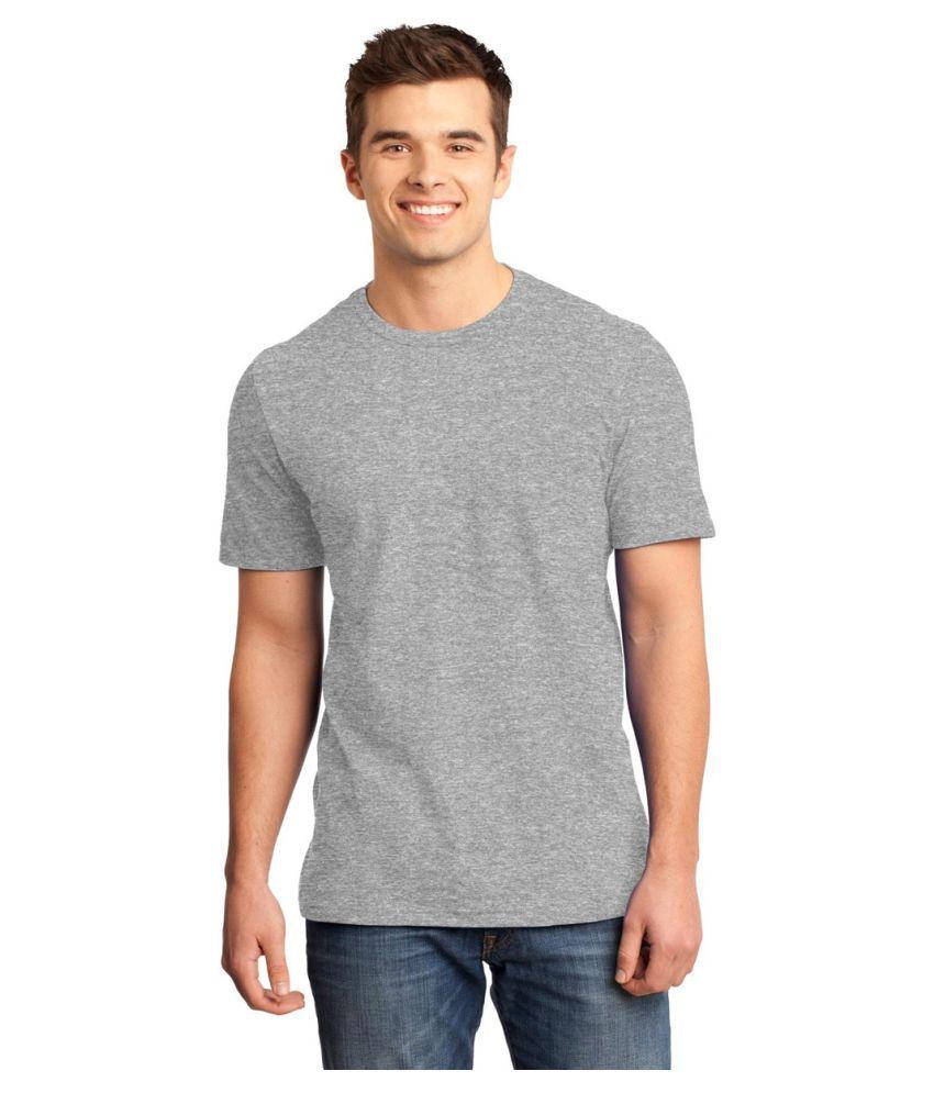 Gallop Grey Round T-Shirt