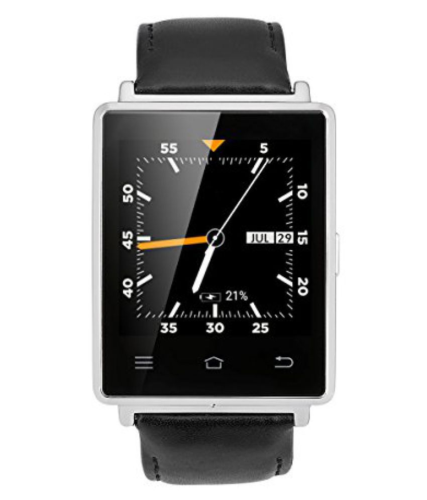 No.1 D6 Smart Watches Black Snapdeal Rs. 12499.00