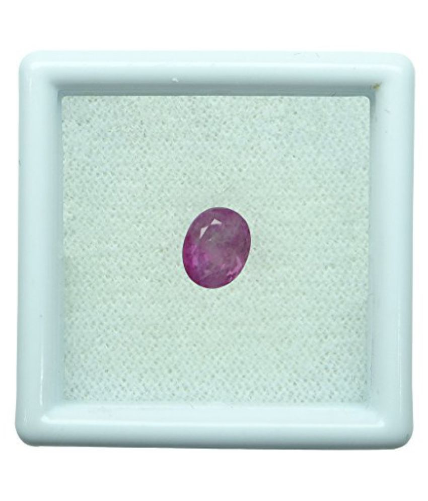 1.63 ct. / 1.81 Ratti BURMESE NATURAL & IIGS CERTIFIED RUBY (MANIK) ASTROLOGI...
