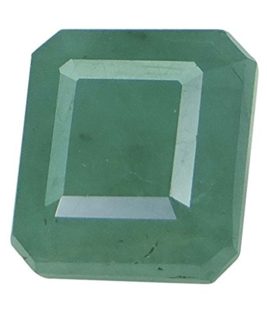Arihants 4.83 ct. / 5.37 Ratti PURE & IIGS CERTIFIED EMERALD (PANNA) ASTROLOGICAL GEMSTONE