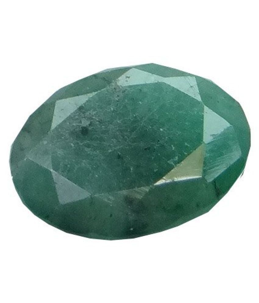 3.26 ct. / 3.62 Ratti PURE & IIGS CERTIFIED EMERALD (PANNA) ASTROLOGICAL GEMS...