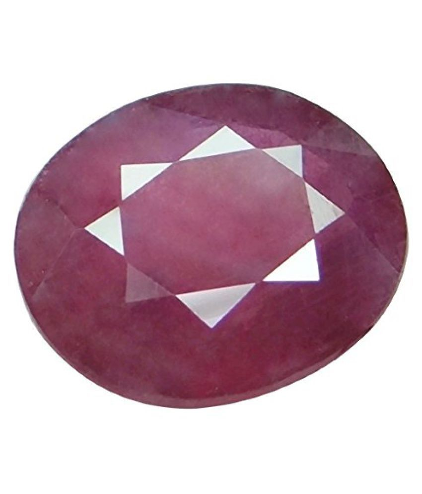 7.53 ct. / 8.37 Ratti Natural & IIGS Certified RUBY (MANIK) BIRTHSTONE BY ARIHANT GEMS & JEWELS