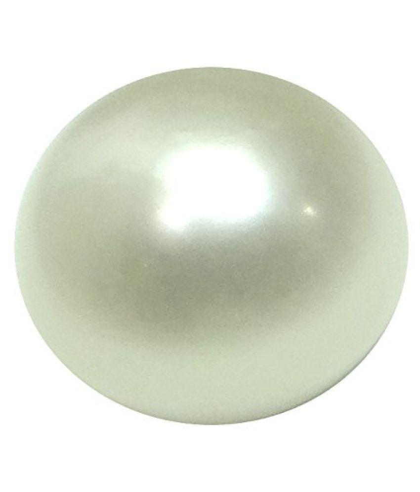PEARL 9.21 ct. / 10.23 Ratti PURE & IIGS CERTIFIED PEARL (MOTI) ASTROLOGICAL BIRTHSTONE BY ARIHANT GEMS AND JEWELS