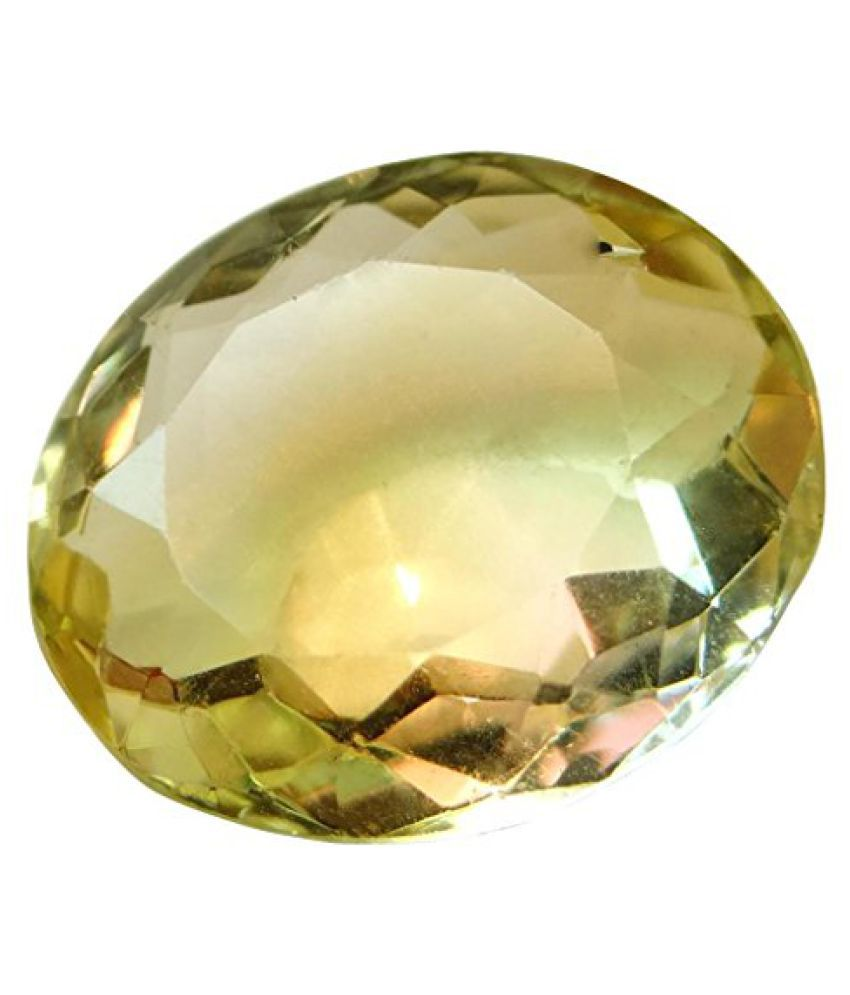 6.03 ct. / 6.7 Ratti Natural & Certified CITRINE (SUNHELLA) BIRTHSTONE BY ARIHANT GEMS & JEWELS