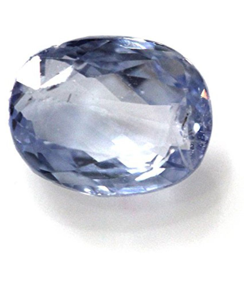 LOOSE 100% NATURAL & CERTIFIED 5.05 ct. BLUE SAPPHIRE BIRTHSTONE BY ARIHANT GEMS & JEWELS