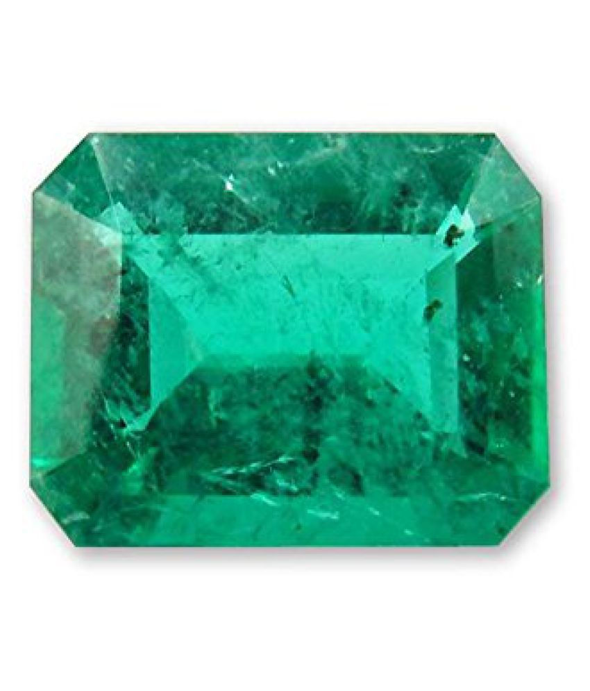 3.25 Ratti Certified Natural Emerald Panna