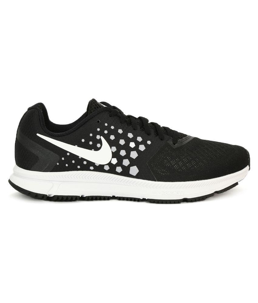 60d08e89b380 Nike Zoom Span Black Running Shoes Nike Zoom Span Black Running Shoes ...