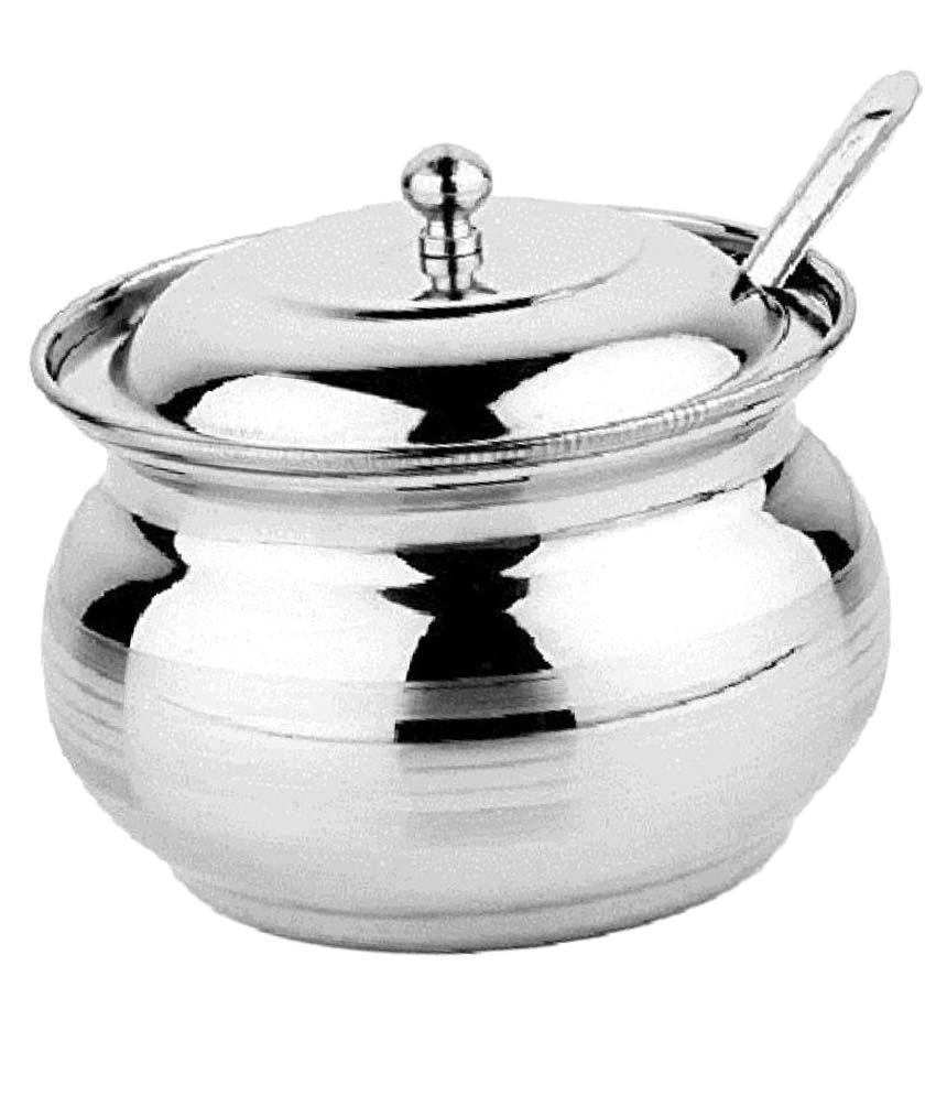 Caryn Ghee Pot No Coating Stainless Steel Handi 10 300
