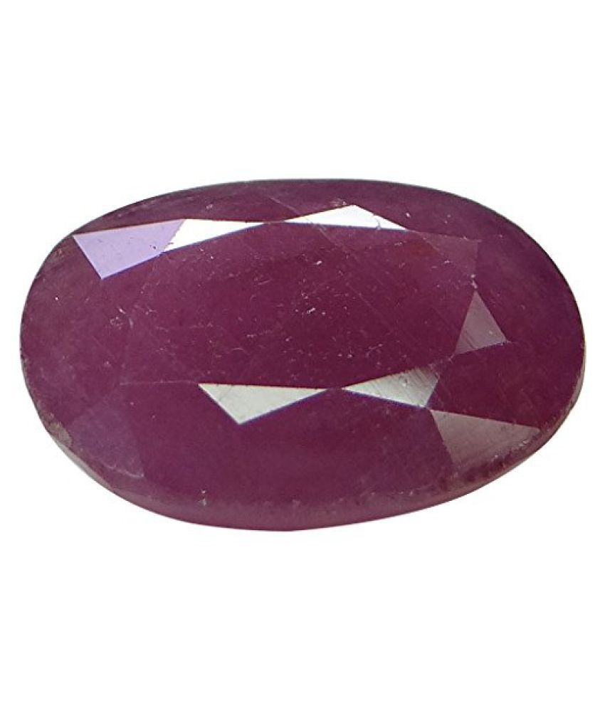10.69 ct. / 11.88 Ratti NATURAL & IIGS CERTIFIED RUBY (MANIK) ASTROLOGICAL GE...