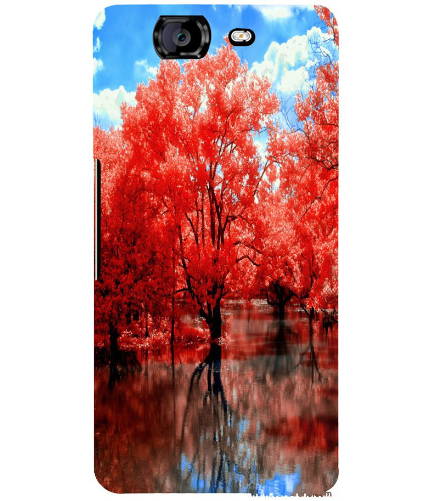 Micromax Canvas A350 Printed Cover By PrintVisa