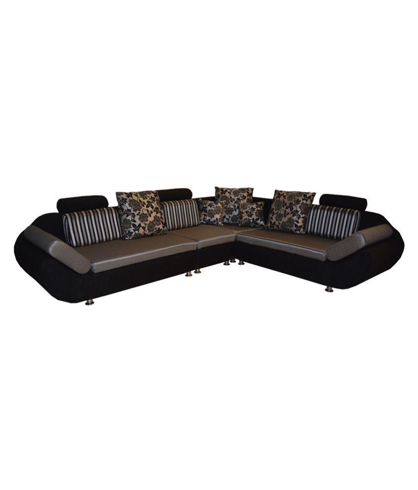 Quick View Bls 888 Fabric L Shape Sofa