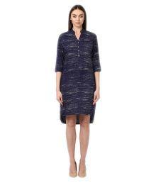 Park Avenue Woman Viscose Asymmetric Dress