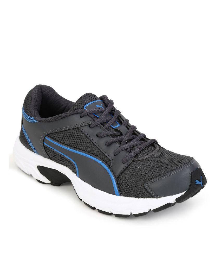Puma Splendor IDP  Gray Running Shoes